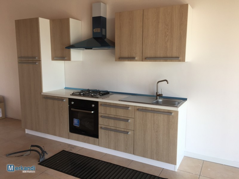 STOSA kitchen furniture sets wholesale, equipped with Indesit / Candy appliances