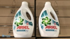 Ariel wholesale laundry detergent - the stock is available in France