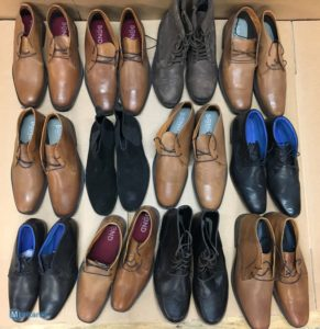 Wholesale of mixed leather shoes for men - debranded & rebranded high quality footwear