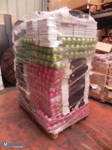 wholesale glass balls pallets