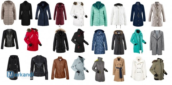 Wholesale coats and jackets for winter - stock located in Germany
