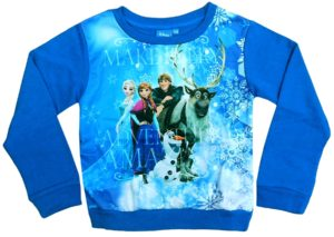 Frozen sweatshirts wholesale