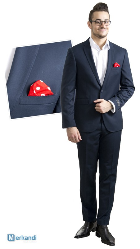 Men's suits wholesale stock