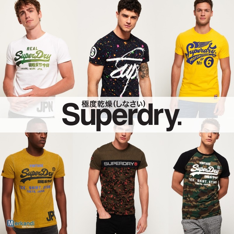 Wholesale Superdry t shirts for men